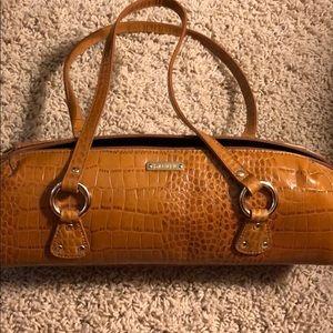 Classic Ralph Lauren barrel style handbag